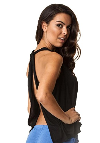 Open Back Halter Top - 3