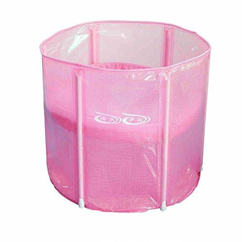 TOYM US Thickening Warm Adult Folding Bath / Folding Bath Tub 70 60 Sponge Bottom Cover by Folding Bathtub