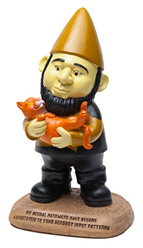 Star Trek Data Gnome Statue (Cat Toy Trek Star)
