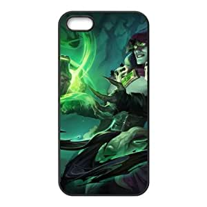 iPhone 5 5s Cell Phone Case Black League of Legends Soulstealer Vladimir OIW0457231