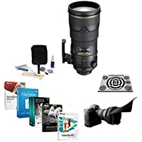 Nikon 300mm f/2.8G ED-IF II AF-S VR-II NIKKOR Lens Bundle with LensAlign MkII Calibration & Software