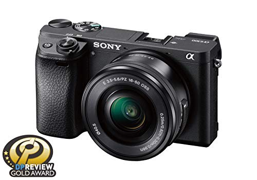 Sony Alpha a6300 Mirrorless Digital Camera with E PZ 16-50mm F3.5-5.6 OSS Power Zoom Lens ()