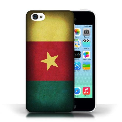 Etui / Coque pour Apple iPhone 5C / Cameroun conception / Collection de Drapeau