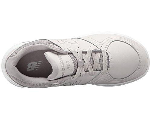 (ニューバランス) New Balance レディースウォーキングシューズ?靴 WW813 Grey 1 6.5 (23.5cm) D - Wide