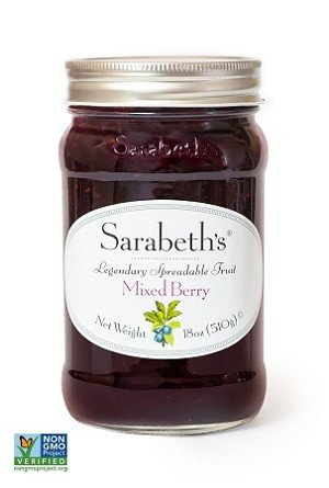 Raspberry Blueberry Jam - Sarabeth's Legendary Mixed Berry (Billy's Blues) Preserves (9 Oz Jar)