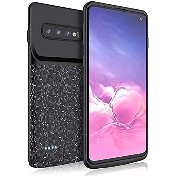 Amazon.com: RUXELY Galaxy S10 Battery Case, 4700mAh Portable ...