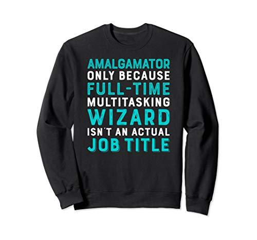 Amalgamator Wizard Isnt An Actual Job Title Sweatshirt