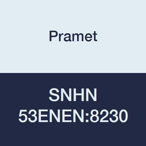 Carbide Milling Insert 90 Degree Square Gold Positive Geometry PVD Pack of 10 P30,M30,K30 Pramet SNHF 43ENSR-M:8230 Multi-Material