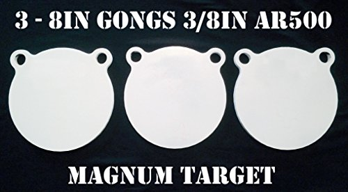 8 inch steel target - 3