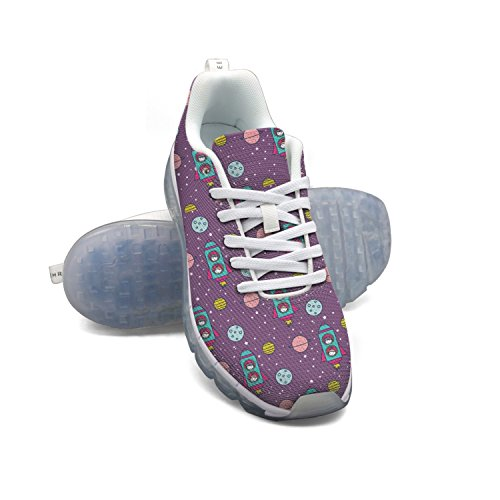 Faaerd Astronauta Kids-01 Uomo Traspirante Mesh Cuscino Daria Sportivo Scarpe Da Corsa Casual Walking Sneakers