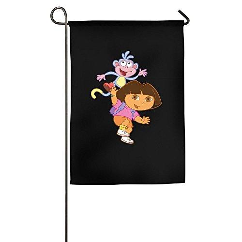 DEJML Custome Dora The Explorer Poster Garden Flag 1827inch