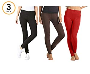 Premium Ultra Soft High Waist Leggings - Regular and Plus Size - Many Colors