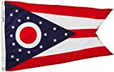 Cheap Annin Flagmakers Model 144250 Ohio State Flag Nylon SolarGuard NYL-Glo, 2×3 ft, 100% Made in USA to Official Design Specifications