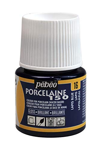 PEBEO 024-016 Porcelaine 150, China Paint, 45 ml Bottle - Lapis - Porcelain Lapis