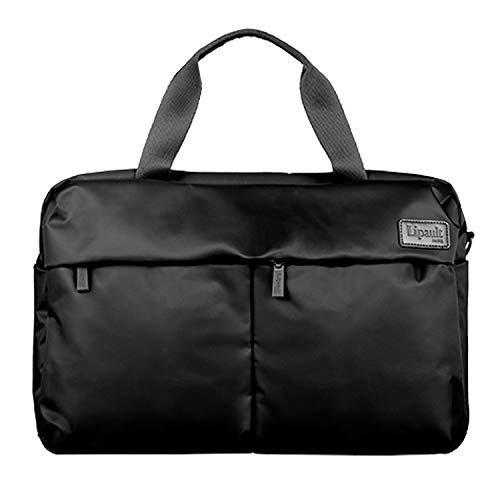 Lipault - City Plume 24H Bag - Top Handle Shoulder Overnight Travel Weekender Duffel Luggage for Women - Black
