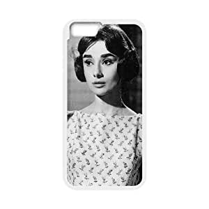 "D-PAFD Customized Audrey Hepburn Pattern Hard Phone Case For iPhone 6 Plus (5.5"")"