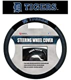 MLB Detroit Tigers Poly-Suede Steering Wheel Cover