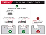 ZEROPLAY Miter Bars by MICROJIG