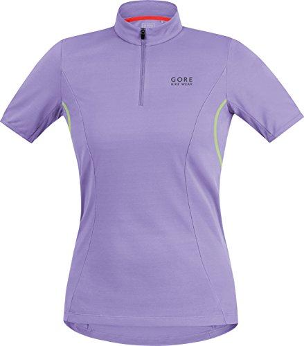 GORE BIKE WEAR Women's  Jersey, Violet/Neon Yellow, (Gore Bike Wear Mesh Jersey)