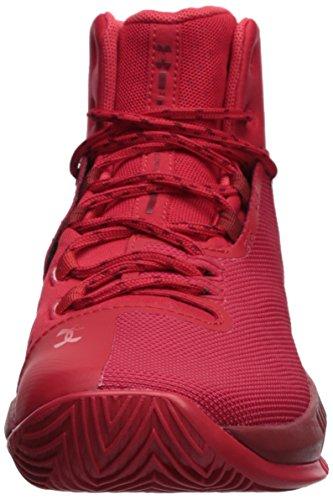 BGS 4 Armour Pierce UA Rouge 601 de Under Garçon Chaussures Basketball Drive HxEAOpw