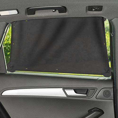 Zamboo Auto Zonnescherm voor Zijraam/Universele Autoruit Zonwering voor Baby en Kind/UV-bescherming, Hittebescherming en…