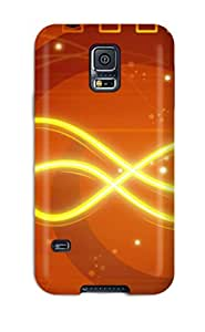 AERO Jose Aquino's Shop New Style Tpu S5 Protective Case Cover/ Galaxy Case - Orange 7505219K17552189