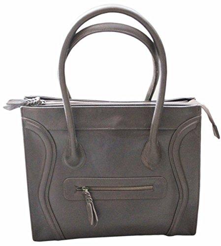 Handtasche aus Leder Modell ANATASIA von Hgilliane Design