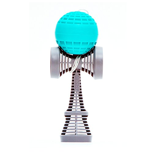 Catchy-AIR-Kendama-Teal-and-Gray