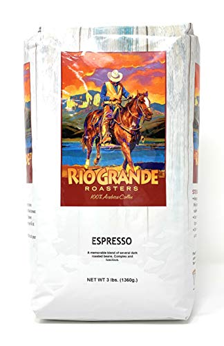 Rio Grande Roasters 3 Lb. Bag Whole Bean Coffee (Espresso)