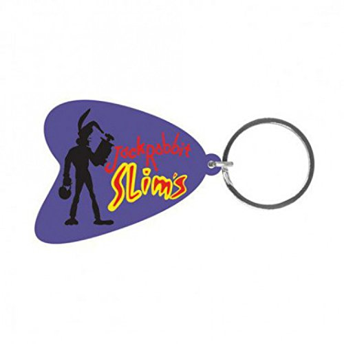 Pulp Fiction Keychain Keyring For Fans - Jack Rabbit Slims (2 x 2 inches) (Keychain Rabbit Jack)