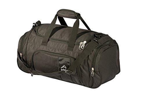 ERBÖ Reisetasche Sporttasche Travel Bag Advantage in schwarz Größe one size