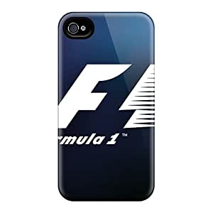 New Style Tpu 4/4s Protective Case Cover/ Iphone Case - Formula 1