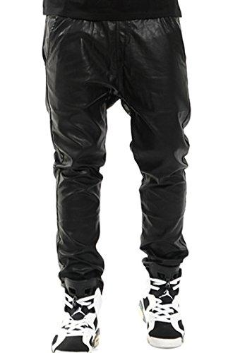 Unisex Leather Pants - 2
