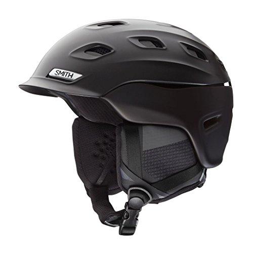 Smith Optics Vantage Adult Ski Snowmobile Helmet - Matte Black / Black / Medium