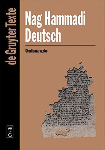 Nag Hammadi Deutsch (de Gruyter Texte) (German Edition)
