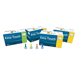 """[2 BOXES] EASY TOUCH® 31G TIP x 7MM (5/16"""") DISPOSABLE PEN NEEDLES (100 COUNT X 2 BOXES) *COMPARE TO B-D® & NOVOFINE® 31G TIP AND SAVE!!*"""