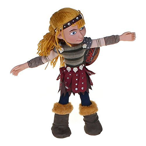 """Astrid - How to Train Your Dragon 14"""" Poseable Plush / Vinyl Doll"""