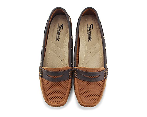 1689f2284a8 Jabasic Women Classic Tie Driver Moccasins Boat Shoes Slip On Flats Loafers