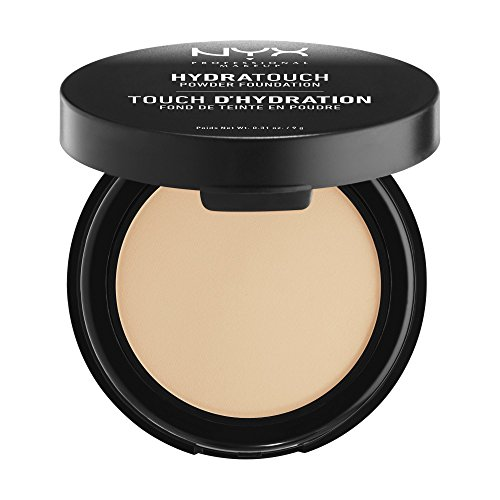 NYX PROFESSIONAL MAKEUP Hydra Touch Powder Foundation, Natural, 0.31 Ounce