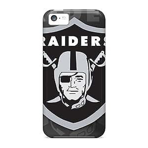 Iphone 5c SIG11767rQiU Customized Vivid Oakland Raiders Skin Shock Absorption Hard Phone Cases -MansourMurray