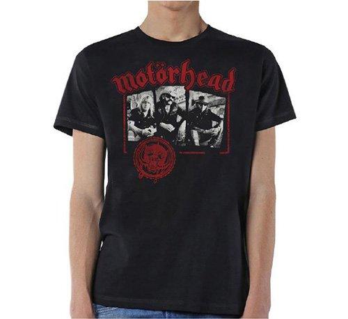 Motorhead Herren T-Shirt Stamped schwarz