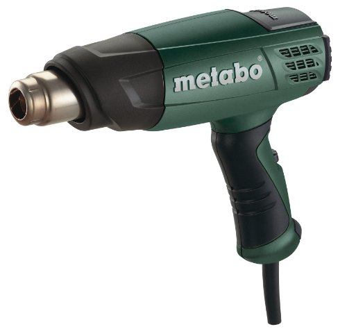 Metabo HE 20-600 Electronic 3-Stage Variable Temperature 120/120-1110°F-Degree Fahrenheit Air Gun (Safety Grip Soft Air Gun)