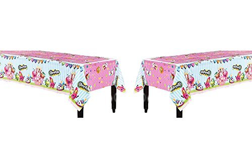 Unique Industries Shopkins Table Cover 2 Pieces by Party Supplies -