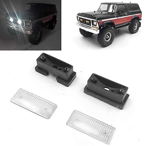 Fog LED Licht Front Gitter für Traxxas 1//10 TRX-4 Ford Bronco Ranger D110 Autos