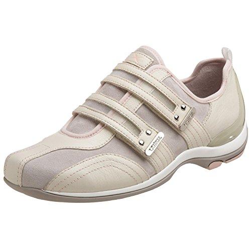 Aetrex Women's Abbey Double Strap Sneaker,Dove,10 M US