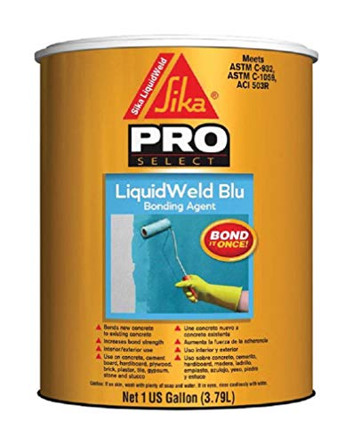 Sika 530491 Liquidweld Blu Bonding Primer, 1 Gallon, Light Blue (Pack of 2)