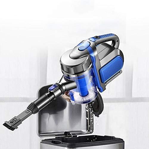 SMLZV Bâton Aspirateur sans fil, 2 en 1 Aspirateur portable léger, 2200mAh haute efficacité batterie rechargeable au lithium, for tapis Pet Hair Car