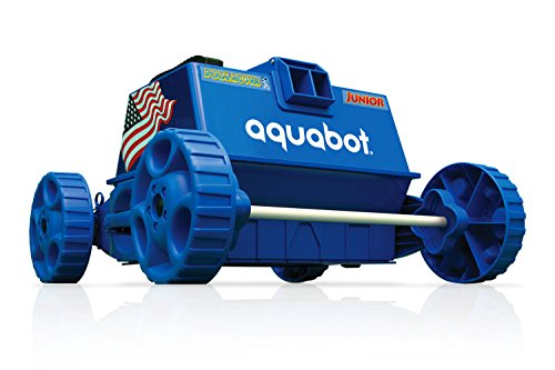 Aquabot APRVJR Pool Rover Junior Robotic Above-Ground Pool Cleaner,Color May Vary (The Pool Cleaner 2 Wheel)