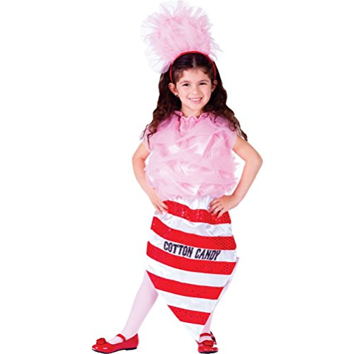Candy Clown Costume Cotton (Cotton Candy Costume)