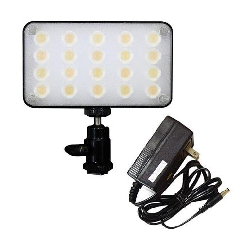 Core SWX TorchLED Bolt 250 250W On-Camera LED Light, Dimmable - With SWX Torch LED Power Supply by Core SWX
